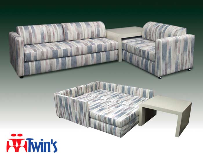 T - 2015 Twin Bahama Bed