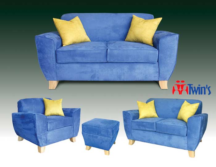 T - 3015 Sofa, Love Seat, Chair and Ottoman