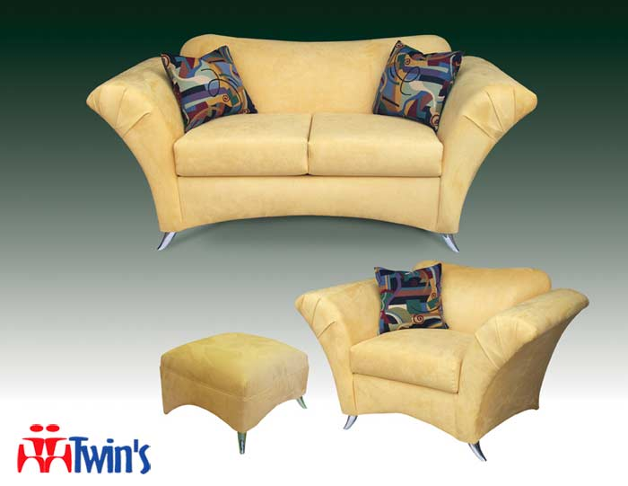 T - 3025 Sofa, Love Seat, Chair and Ottomann