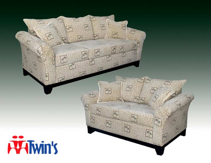 T - 3075 Sofa and Love Seat